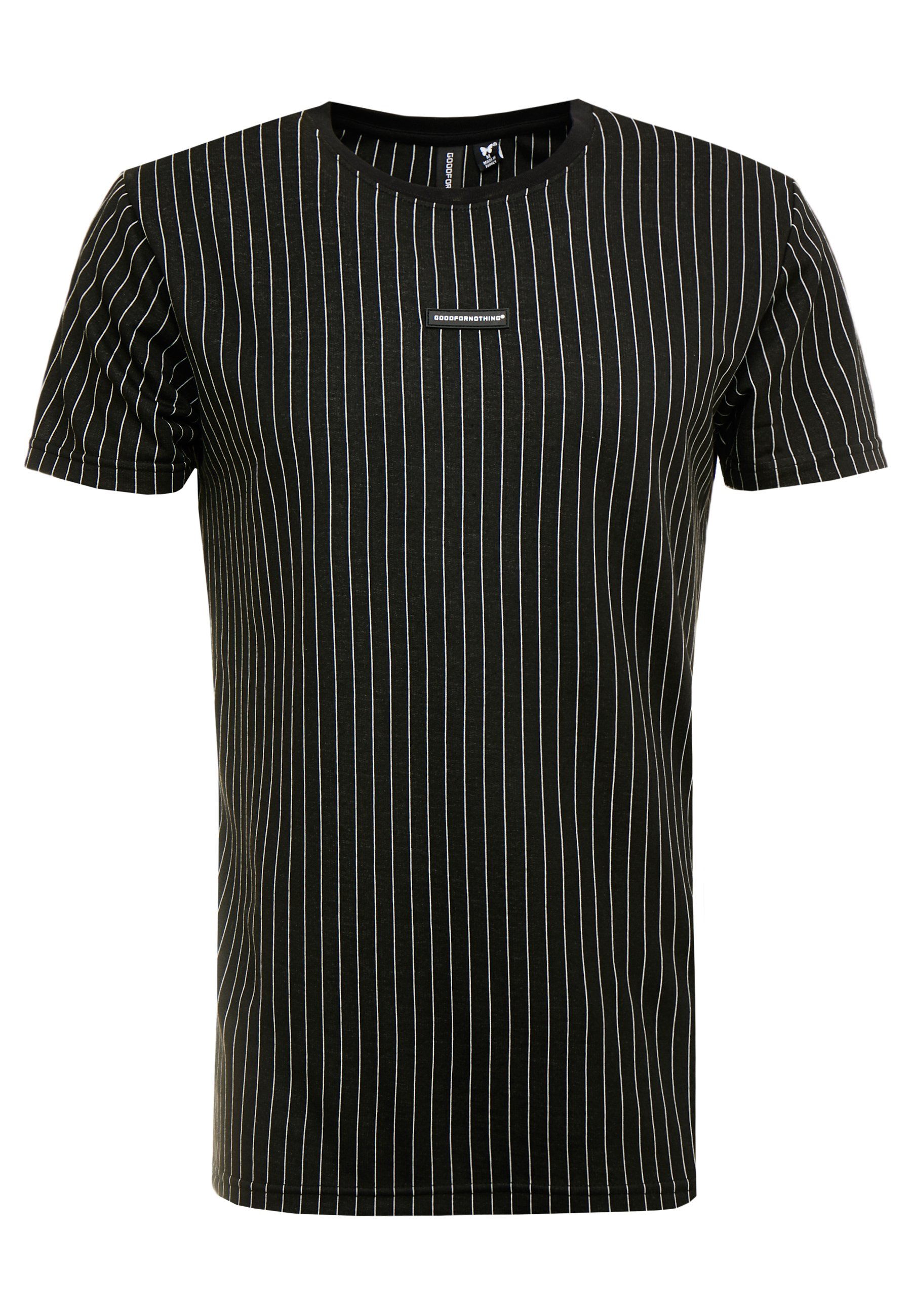 Good For Nothing Pinstripe - T-shirt Imprimé Black