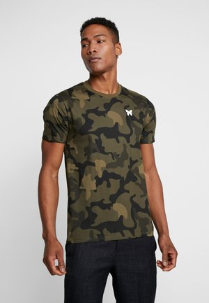 GOOD FOR NOTHING IN CAMOU - T-shirt imprimé - khaki