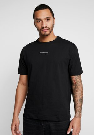 BASIC - Print T-shirt - black