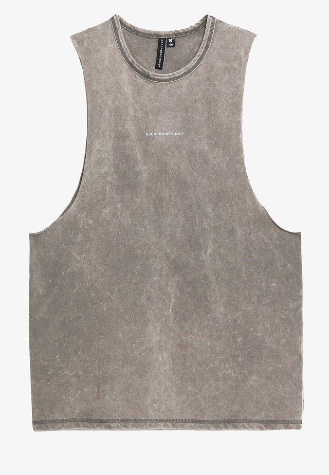 ACID WASH - Débardeur - grey