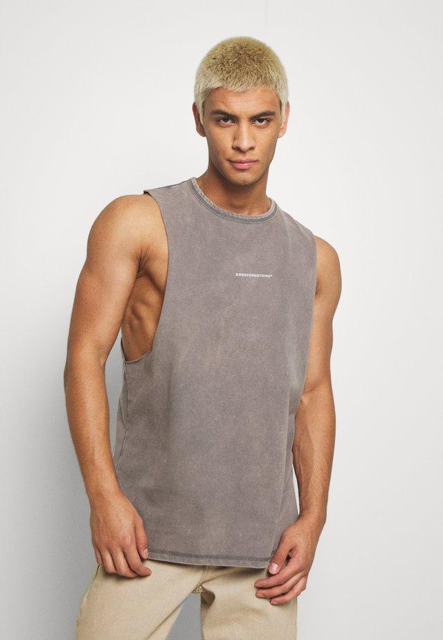 ACID WASH - Top - grey