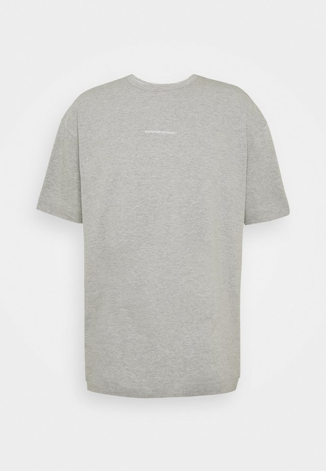 GOOD FOR NOTHING OVERSIZED T-SHIRT  - T-Shirt print - grey