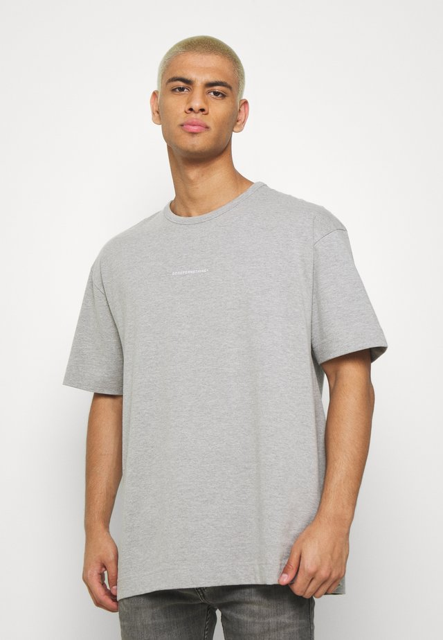 GOOD FOR NOTHING - T-shirt med print - grey