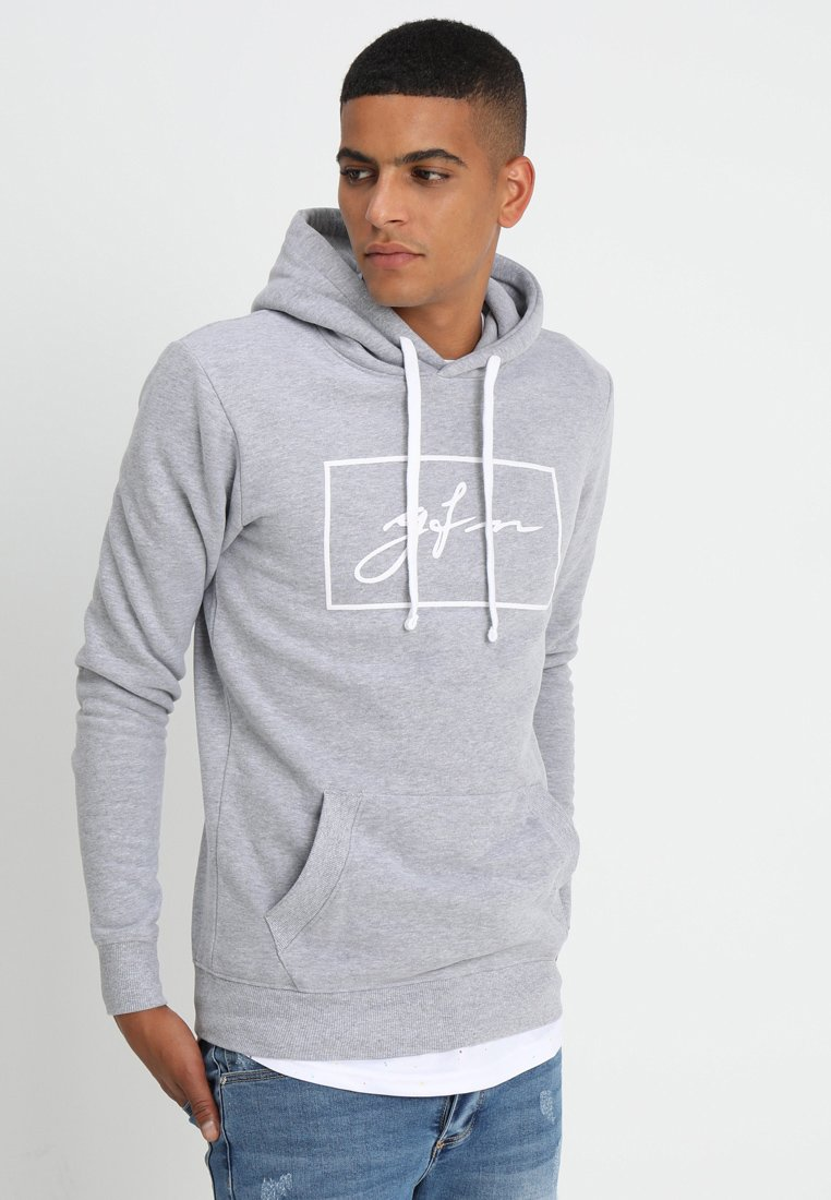 Good For Nothing - AUTOGRAPH BOX LOGO HOOD - Hoodie - grey marl