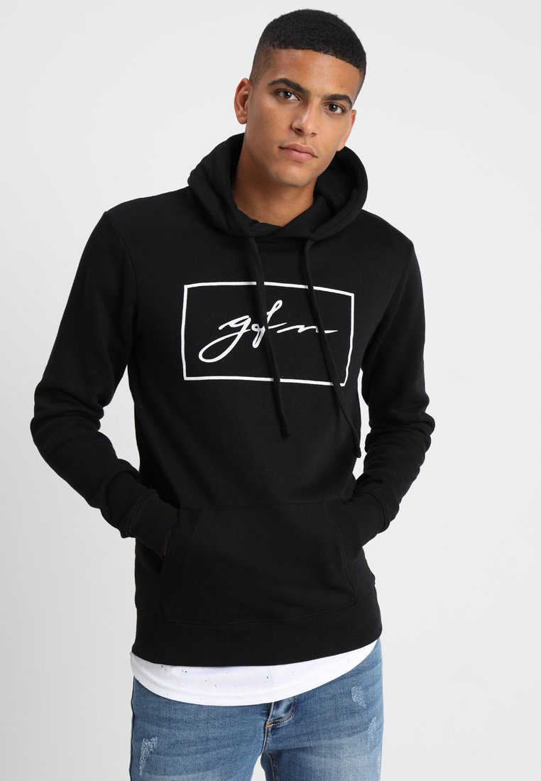 Good For Nothing - AUTOGRAPH BOX LOGO HOOD - Bluza z kapturem - black