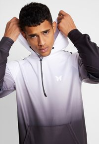 Good For Nothing - FITTED GRADIENT HOOD WITH BRANDED TAPING - Hoodie - black - 6