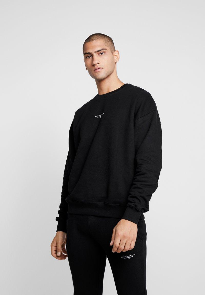 Good For Nothing - ESSENTIAL - Sweatshirt - black