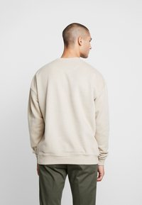 Good For Nothing - OVERSIZED ESSENTIAL - Mikina - stone - 2