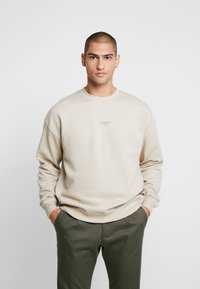 Good For Nothing - OVERSIZED ESSENTIAL - Mikina - stone - 0