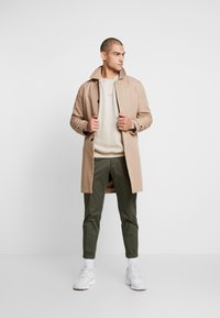 Good For Nothing - OVERSIZED ESSENTIAL - Mikina - stone - 1