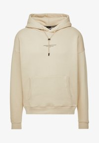 Good For Nothing - OVERSIZED HOODIE IN ACID WASH - Mikina skapucí - stone - 4