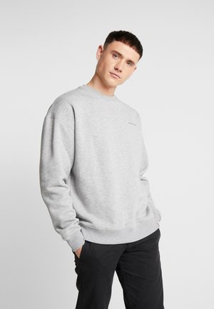 OVERSIZED WITH BRANDING - Sweatshirt - grey