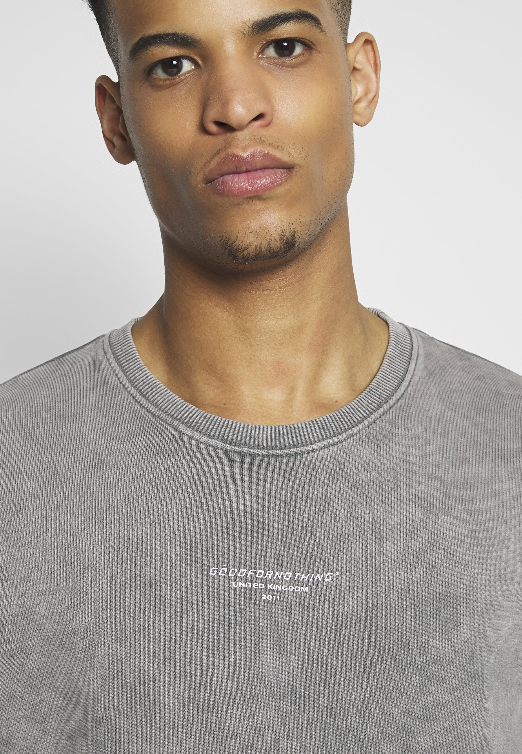 Good For Nothing Acid Wash - Sweatshirt Grey