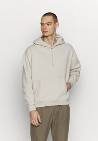 Good For Nothing - OVERSIZED HOODIE - Mikina s kapucí - tan - 0
