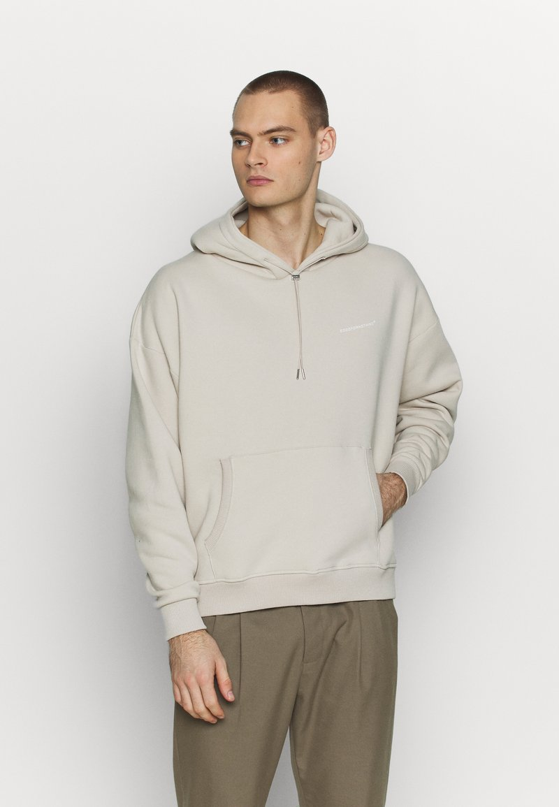 Good For Nothing - OVERSIZED HOODIE - Mikina s kapucí - tan