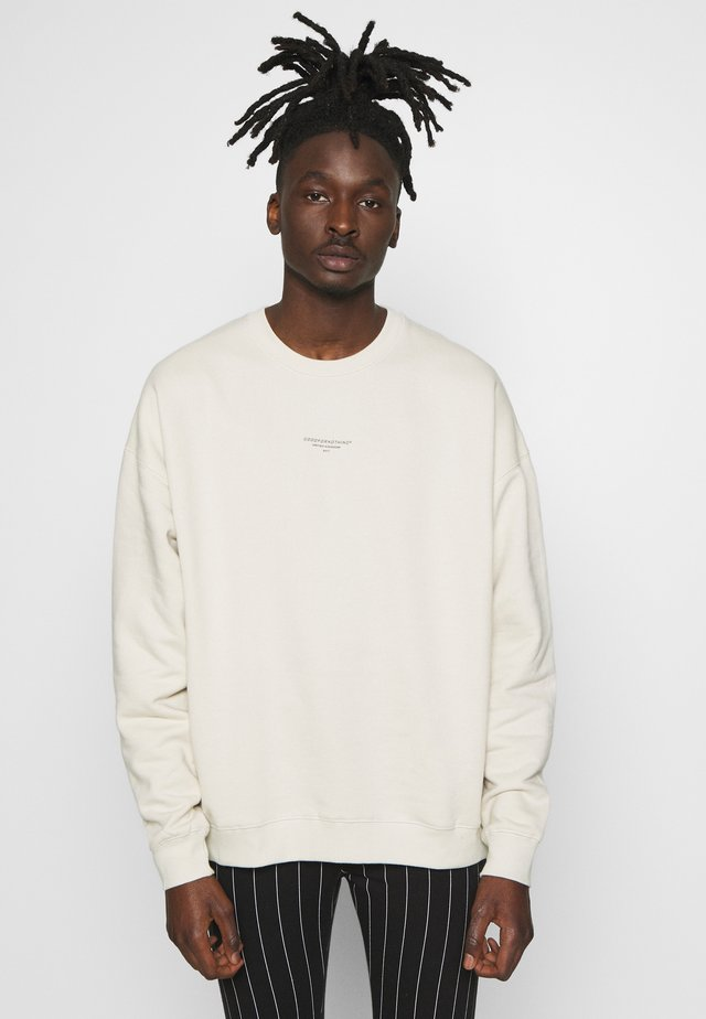 GOOD FOR NOTHING OVERSIZED - Sweatshirt - tan