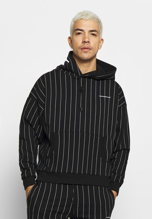 GOOD FOR NOTHING OVERSIZED HOODIE - Felpa con cappuccio - black