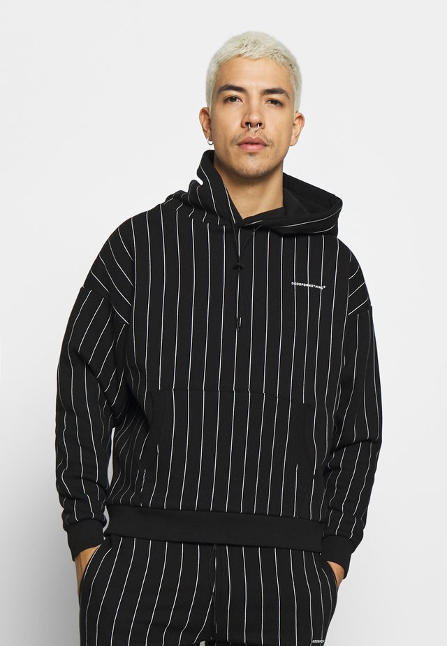 GOOD FOR NOTHING OVERSIZED HOODIE - Kapuzenpullover - black