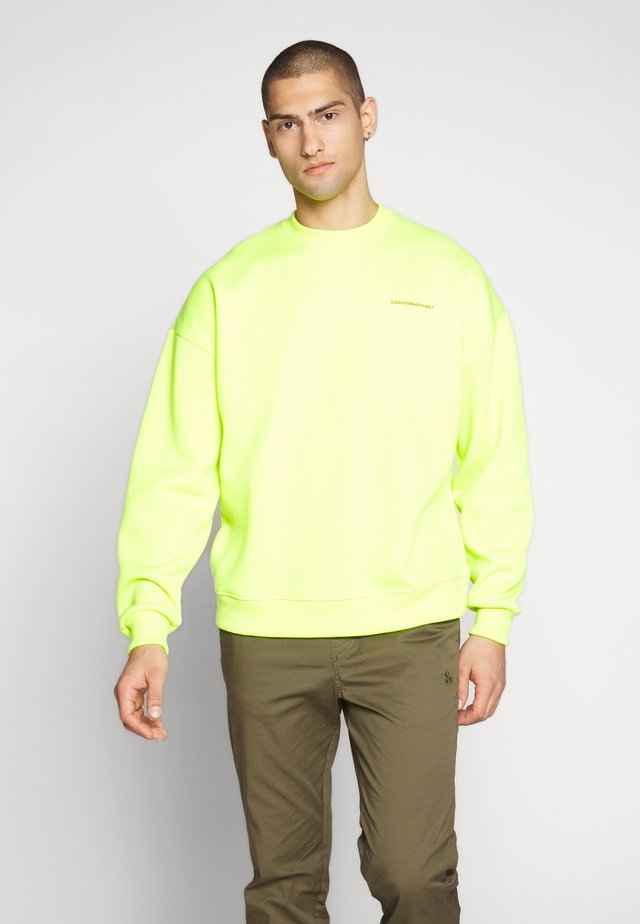 GOOD FOR NOTHING - Sweatshirt - neon yellow