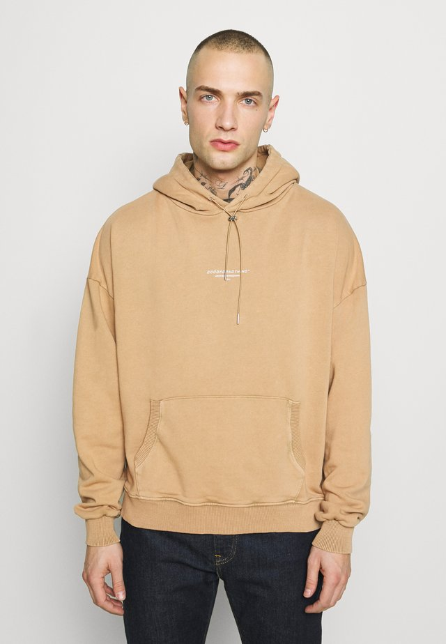 OVERSIZED HOODIE  - Jersey con capucha - peach