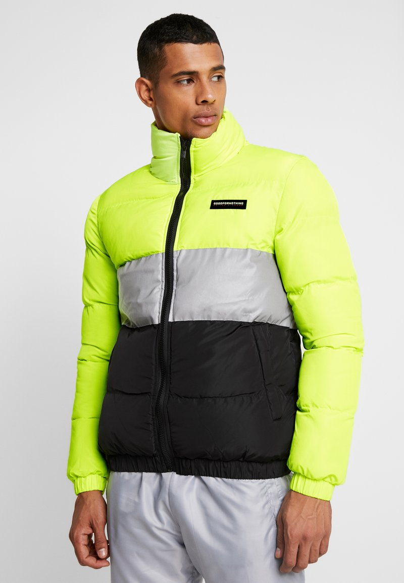 Good For Nothing - NEON REFLECTIVE FUNNEL NECK JACKET - Winter jacket - multi