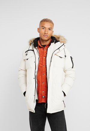 DOUBLE LAYERED ARCTIC - Winter coat - stone