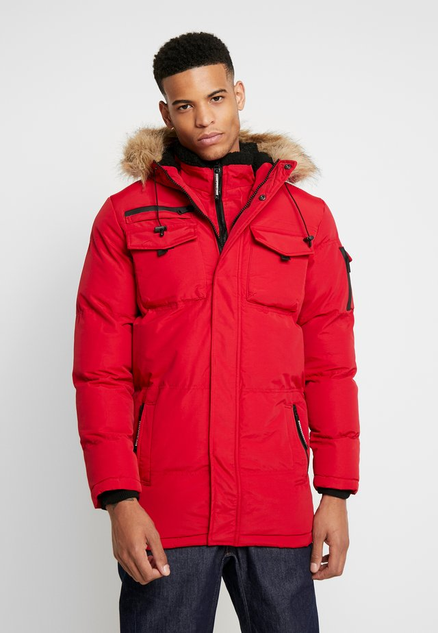 DOUBLE LAYERED ARCTIC - Vinterkappa /-rock - red