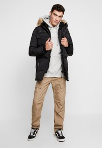 Good For Nothing - DOUBLE LAYERED ARCTIC - Vinterkappa /-rock - black - 1