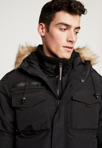 Good For Nothing - DOUBLE LAYERED ARCTIC - Vinterkappa /-rock - black - 4