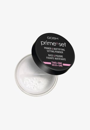 PRIME'N SET POWDER PRIMER & MATTIFYING SETTING POWDER - Primer - 001 transparent