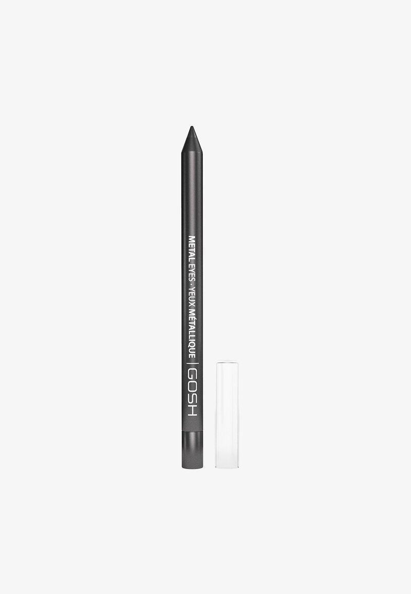 Gosh Copenhagen - METAL EYES - Eyeliner - 001 hematite