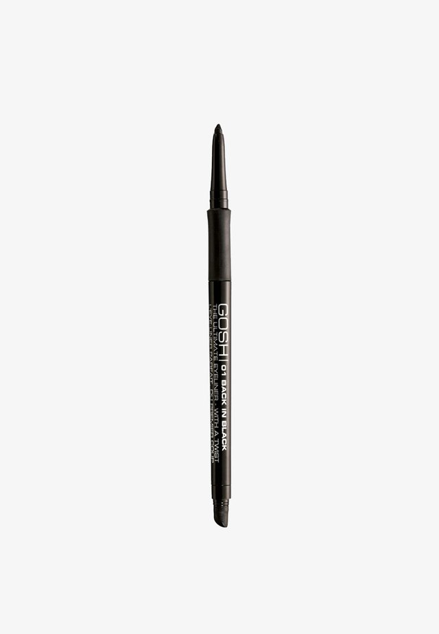 THE ULTIMATE EYELINER WITH A TWIST - Eyeliner - 01 back in black