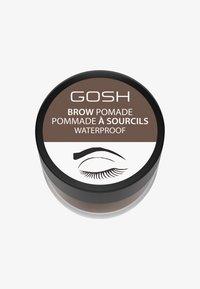 Gosh Copenhagen - BROW POMADE - Żel do brwi - 001 brown - 0