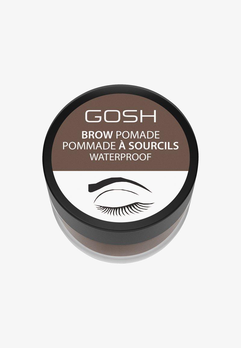 Gosh Copenhagen - BROW POMADE - Żel do brwi - 001 brown