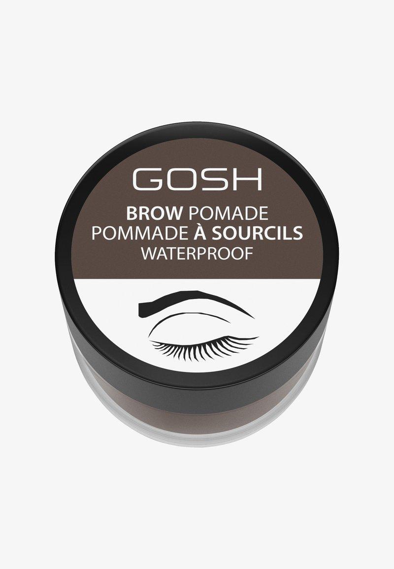 Gosh Copenhagen - BROW POMADE - Øjenbrynsgel - 003 dark brown