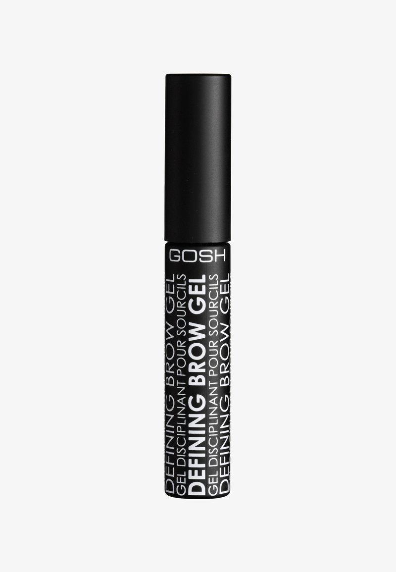 Gosh Copenhagen - DEFINING BROW GEL - Eyebrow gel - 002 brown