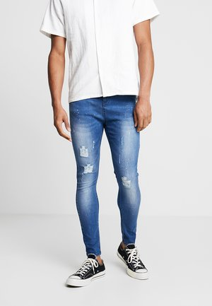 ADRIAN - Skinny džíny - mid blue