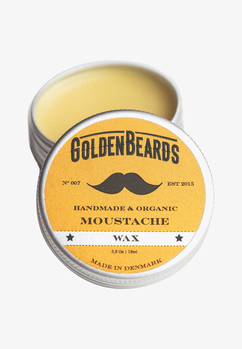 Golden Beards - MOUSTACHE WAX 15ML - Baardolie - -