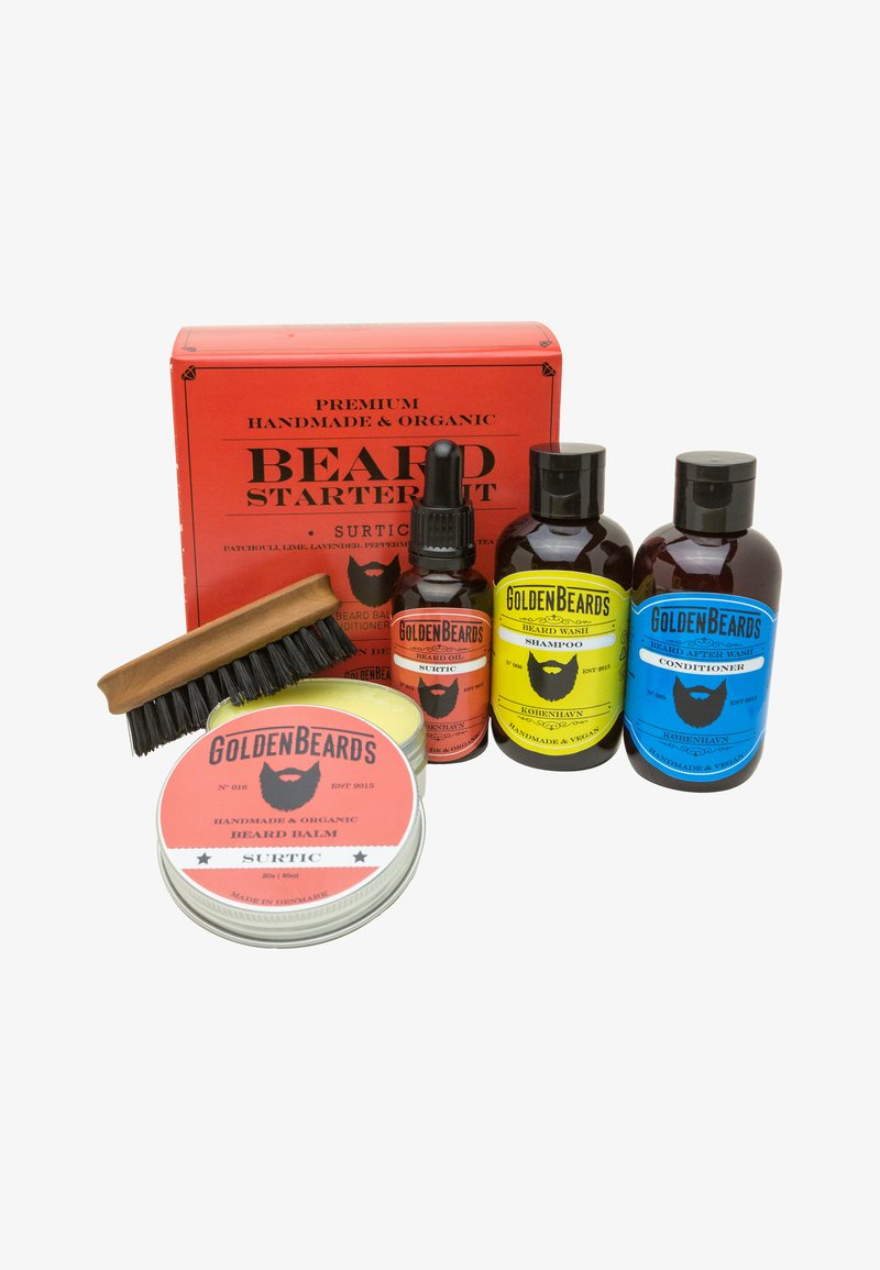 Golden Beards - COMBO GIFT SET - Scheerset - surtic combo