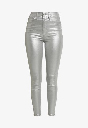 GOOD WAIST - Jeans Skinny Fit - silver