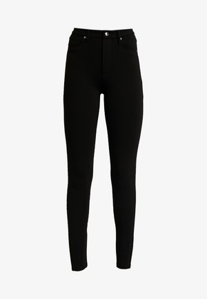 GOOD WAIST PONTE RIDING PANT - Kalhoty - black