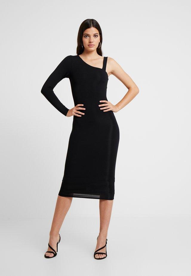 ASYM DRESS - Cocktail dress / Party dress - black