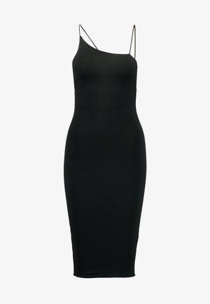SPAGHETTI DRESS - Shift dress - black