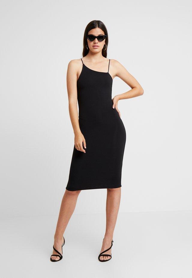 SPAGHETTI DRESS - Etui-jurk - black
