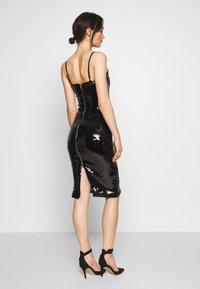 Good American - SEQUIN DRESS - Sukienka letnia - black - 2