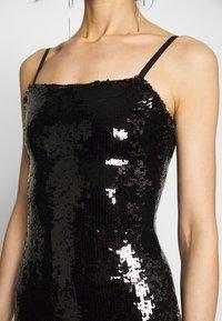 Good American - SEQUIN DRESS - Sukienka letnia - black - 5