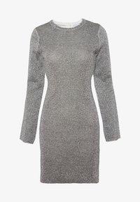 Good American - SPARKLE BELL DRESS - Denní šaty - silver - 4
