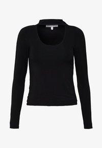 Good American - KEYHOLE - Long sleeved top - black - 3