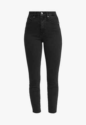 GOOD CURVE FRONT YOKE - Jeans Skinny Fit - black