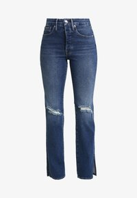 Good American - GOOD BOY WITH SIDE SLIT - Jeans relaxed fit - blue - 7